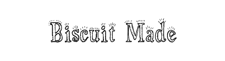 Biscuit Made Font
