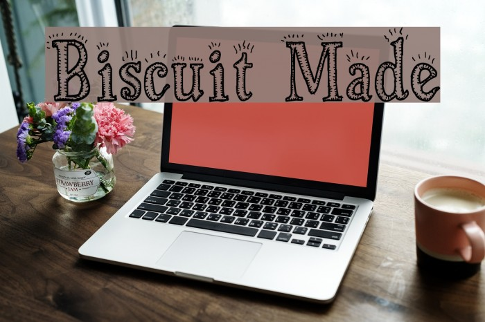 Biscuit Made Font examples