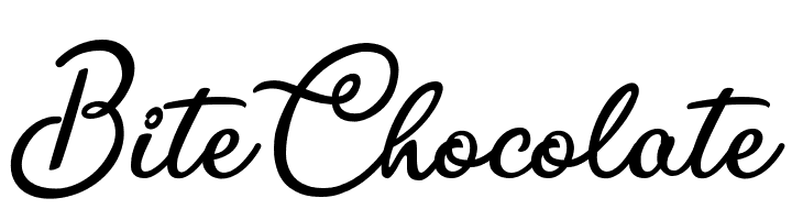 Bite Chocolate  baixar fontes gratis