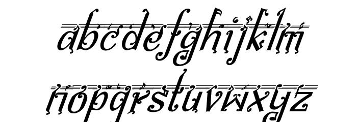 bitling Sravi Italic Шрифта строчной