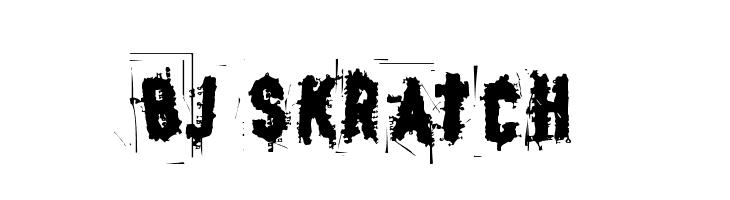BJ SKRATCH  Free Fonts Download