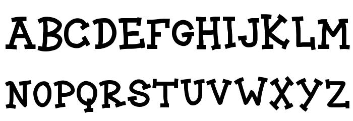 BLOCK CARTOON Font