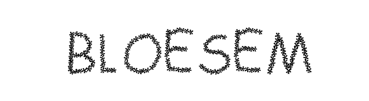 BLOESEM  नि: शुल्क फ़ॉन्ट्स डाउनलोड