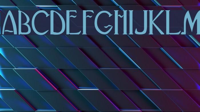 BlackAdderII Font examples