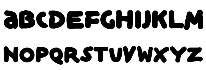 BlackIsBeauty Font Litere mari