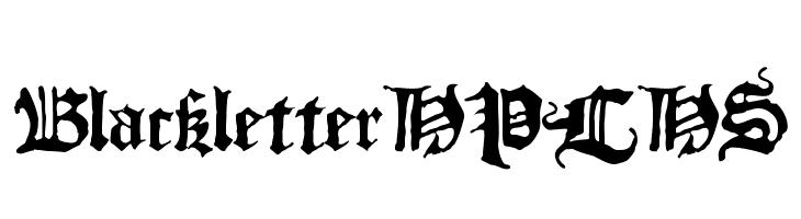 BlackletterHPLHS  baixar fontes gratis