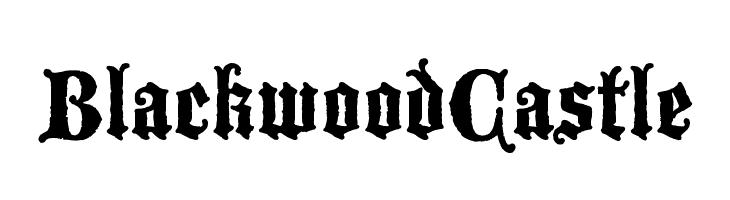 BlackwoodCastle  Descarca Fonturi Gratis