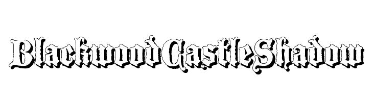 BlackwoodCastleShadow  Descarca Fonturi Gratis