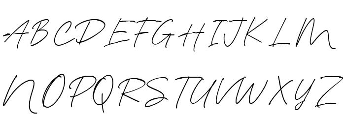Blante Panama Script DEMO Regular لخطوط تنزيل الأحرف الكبيرة
