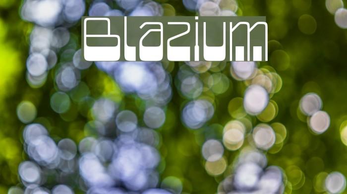 Blazium Schriftart examples