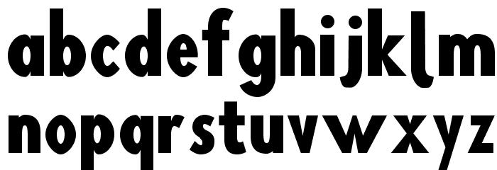 Blink Шрифта строчной