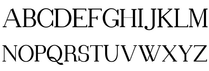 Blithedale Serif Шрифта ВЕРХНИЙ