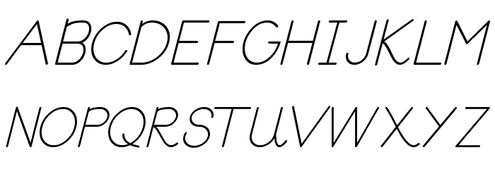 Block Letters Tryout Font UPPERCASE