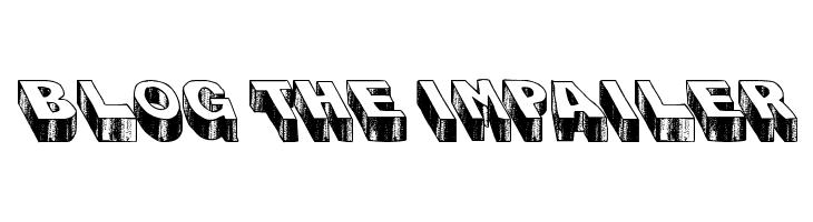 Blog the Impailer  Free Fonts Download