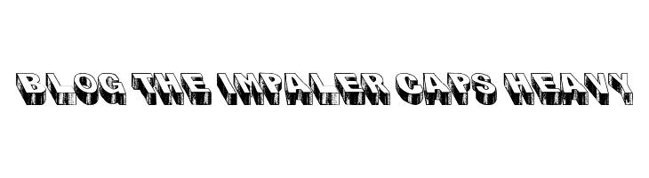 Blog the Impaler Caps Heavy  baixar fontes gratis