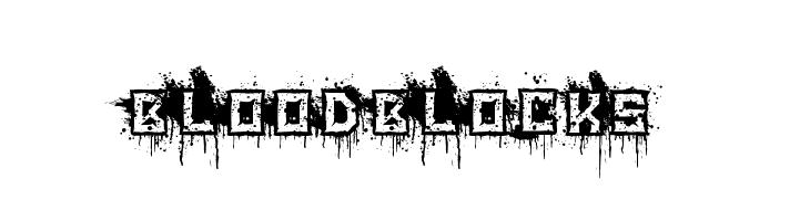 BloodBlocks  नि: शुल्क फ़ॉन्ट्स डाउनलोड