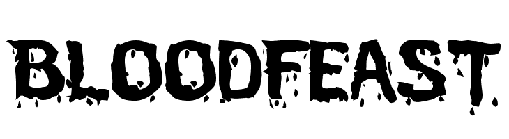 BloodFeast  Free Fonts Download