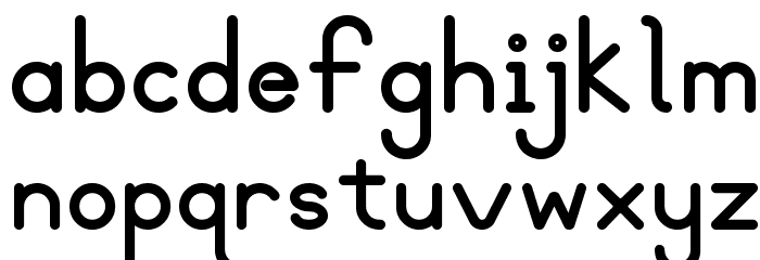 Blooming Grove Alternate Bold Font LOWERCASE
