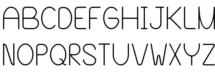 Blooming Grove Alternate Font UPPERCASE