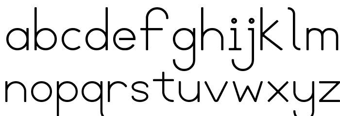 Blooming Grove Alternate Font LOWERCASE