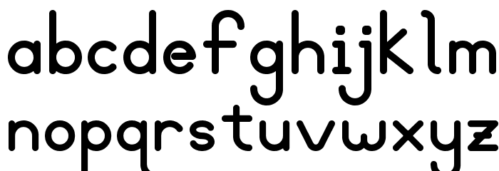 Blooming Grove Bold Font LOWERCASE