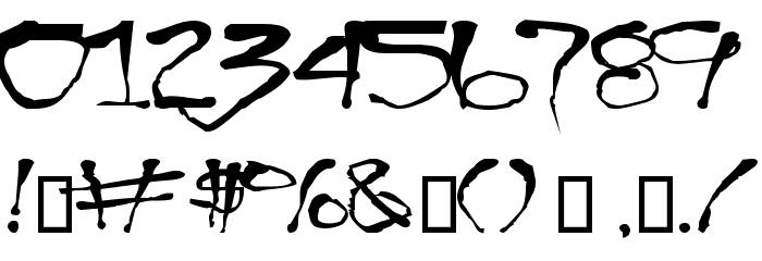 Blottooo Font OTHER CHARS