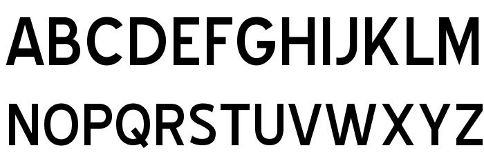 Blue Highway Font UPPERCASE