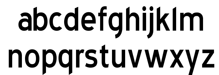 Blue Highway Font LOWERCASE