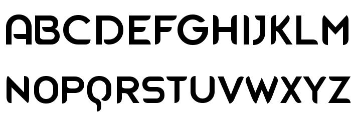 Blue Font Litere mari