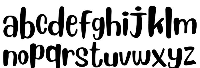 Blueberry Regular Font LOWERCASE