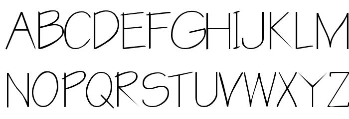 Blueprint Font UPPERCASE