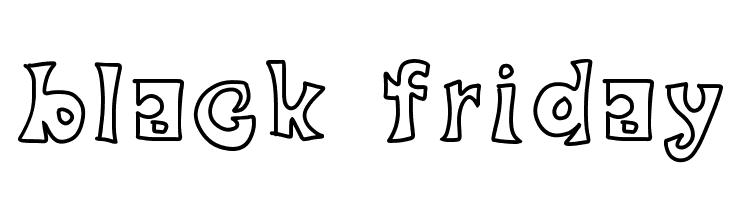 black friday  Free Fonts Download