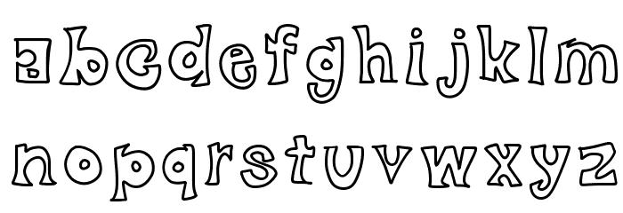 black friday Font LOWERCASE