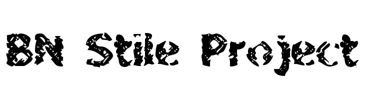 BN Stile Project  baixar fontes gratis