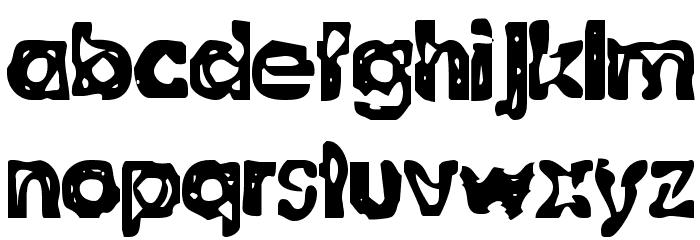 BN-Willson Font LOWERCASE