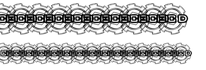 BOLT CUTTER Font OTHER CHARS
