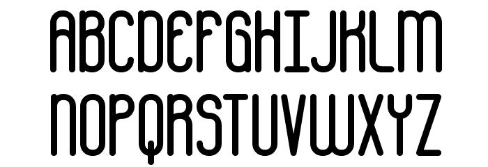 Bobcaygeon Plain BRK Font UPPERCASE