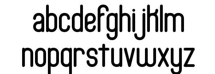 Bobcaygeon Plain BRK Font LOWERCASE