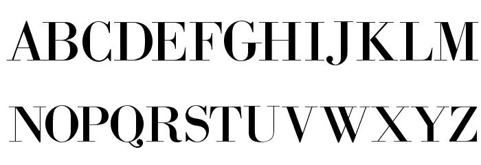 Bodidota Font UPPERCASE
