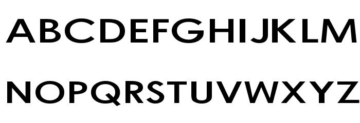 Bog Standard Font UPPERCASE
