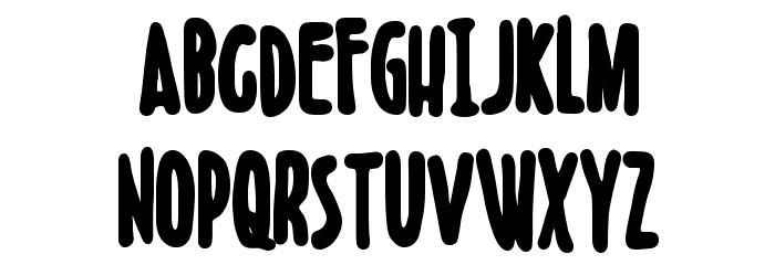 Boldenstein BLACK Font UPPERCASE