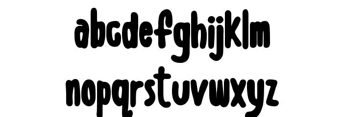 Boldenstein BLACK Font LOWERCASE