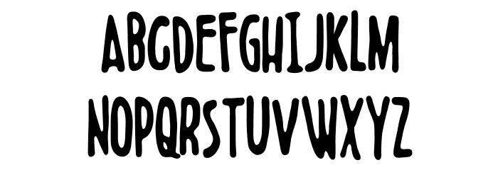 Boldenstein Font UPPERCASE