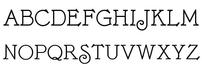 BonteDivine Font UPPERCASE