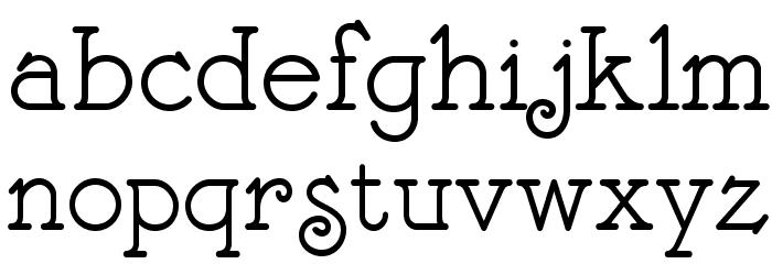 BonteDivine Font LOWERCASE