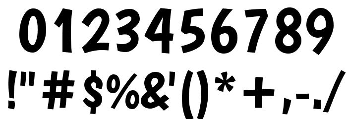 Boogaloo Regular Font OTHER CHARS