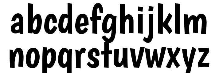 Boogaloo Regular Font LOWERCASE