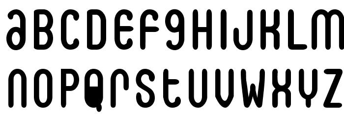BookOfJoe Font UPPERCASE