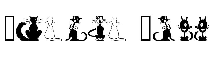 Border Cats  Free Fonts Download