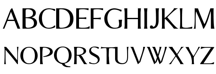 Bordini [Unregistered] Font UPPERCASE